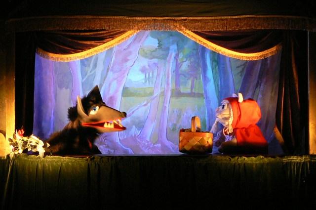 Cappuccetto Rosso - teatro dei burattini